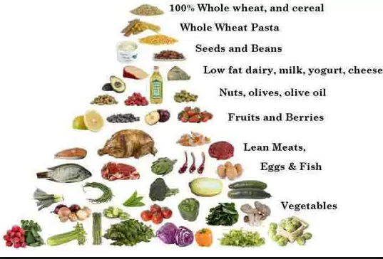 Low Carb Diet Pyramid